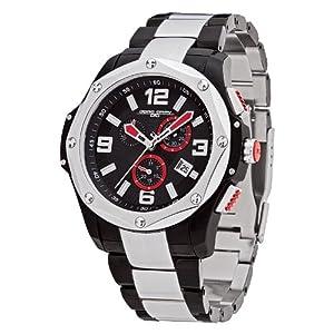 Jorg Gray JG9100-13 - Men's Swiss Chronograph Watch, Date Display, Sapphire Crystal, Stainless Steel Bracelet