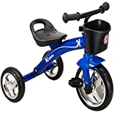 Kiddo Blue 3 Wheeler Smart Design Kids Child Children Trike Tricycle Ride-On Bike 2-5 Years New - Blue