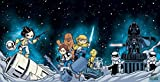 img - for Star Wars #1, Darth Vader #1 & Princess Leia #1 - Skottie Young Connecting Cover Set - Bundle of Three (3) Marvel Comics! book / textbook / text book