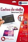 AVERY - C32015-5 - 80 cartes de visit...