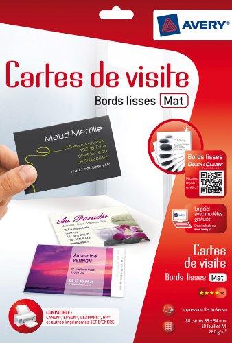 Impression Cartes Visite Pas Cher