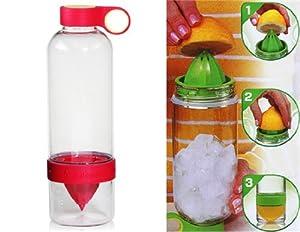 Get Citrus Zinger Water Bottle (Red)