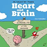 Heart and Brain 2017 Wall Calendar