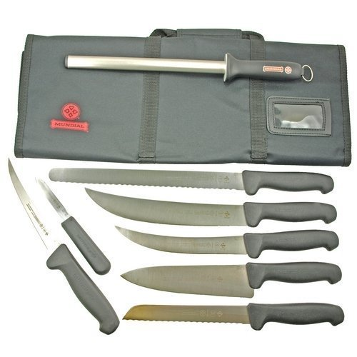Mad Cow Cutlery Mundial Mundigrip Competition BBQ Knife Set (Redhead Meat Grinder compare prices)