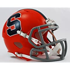 Buy NCAA Syracuse Orangemen Speed Mini Helmet by Riddell