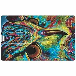 Owl Credit Card 8GB Pen Drive