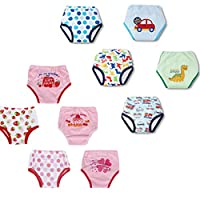 Dimore® Baby Toddler 5 Pack Assortment Cotton Training Pants