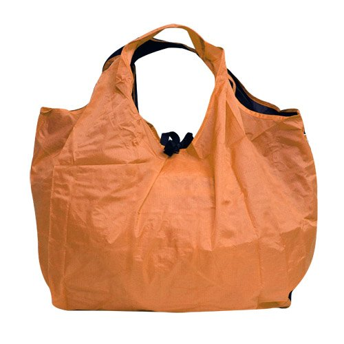 Portable Reusable Roll Up Eco-Friendly Extra Large Grocery Bag (Orange)