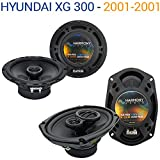 Hyundai XG 300 2001-2001 Factory Speaker Replacement Harmony R65 R69 Package