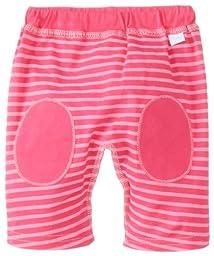i play. Unisex-Baby Newborn Organic Yoga Pants, Fuchsia Stripe, Small/3-6 Months