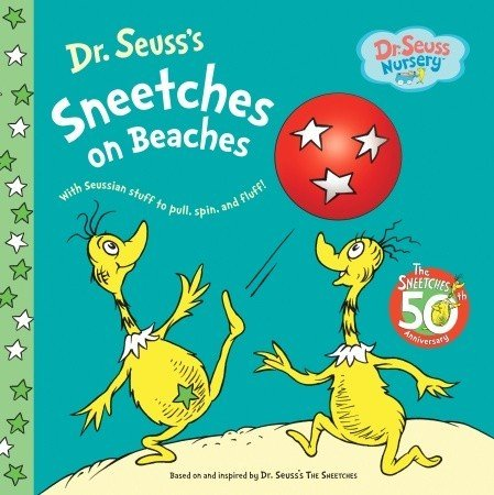 Dr. Seuss Sneetches On Beaches Board Book front-407439