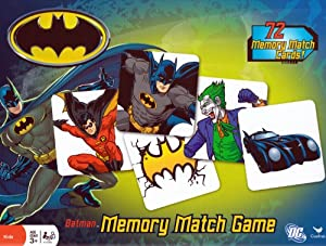 Batman Memory Match Game - 72 Memory Match Cards!