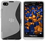 mumbi S-TPU Schutzhülle BlackBerry Z30 Hülle transparent