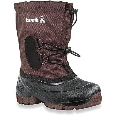 Kamik Southpole2 NK4859-2 Unisex - Kinder Stiefel (26, braun)