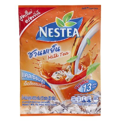 Nestea Instant Thai Milk Tea Mix Powder 350G. (35G.X10 Sachets)