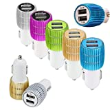LipiWorld LIPI0403 2-Port USB Car Charger