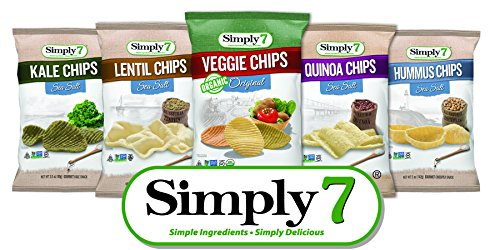 Single Serve Sample Pack - Quinoa, Hummus, Lentil, Kale, Veggie Chips (Single Serve Hummus compare prices)