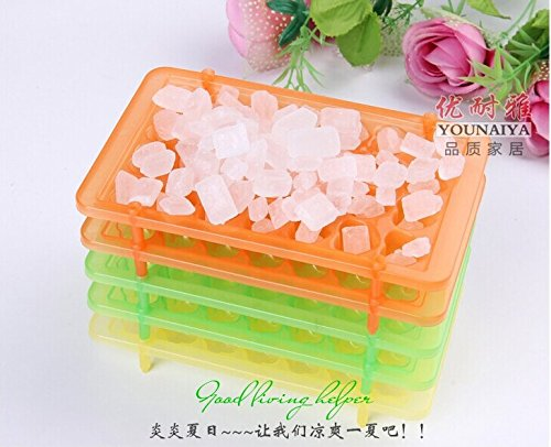 1pc New Ice Cube Molds Trays Foldable 28-molds/plate Ice Makers Whiskey Cocktail