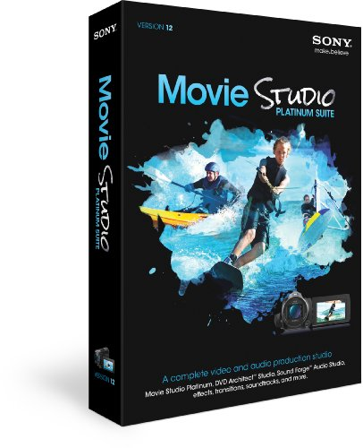 Sony Movie Studio Platinum Suite 12 (Dvd Authoring Software compare prices)