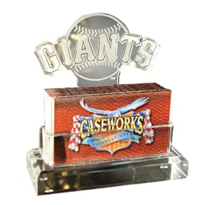 MLB San Francisco Giants Business Card Holder in Gift Box by Caseworks