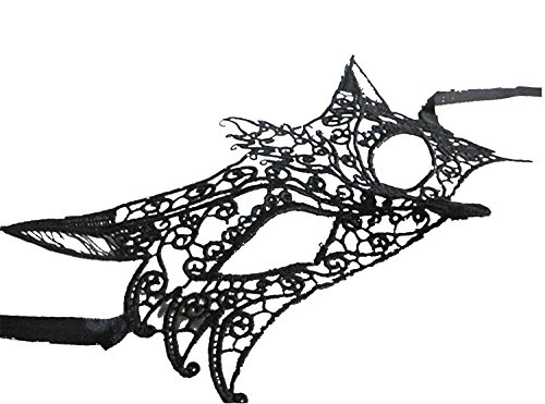 Black and white masquerade masks clip art