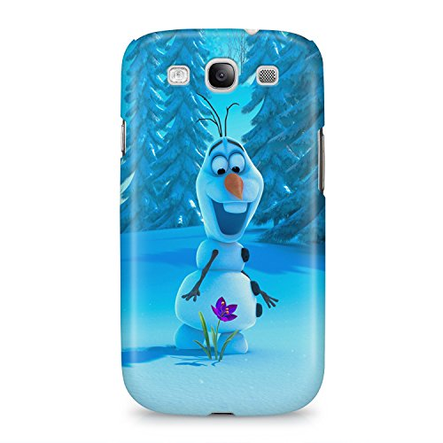 Frozen Olaf Hard Plastic Snap Case Cover For Samsung Galaxy S3 Custodia