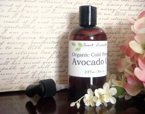 100% Pure Certified Organic Avocado Oil - 8Oz - Imported From Italy