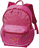 sigikid 23060 enfant fille, sac à dos rose vif, 'Pinky Queeny'