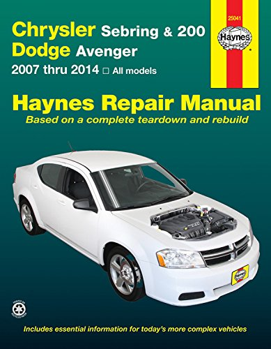 haynes-chrysler-sebring-200-and-dodge-avenger-2007-thru-2014-automotive-repair-manual