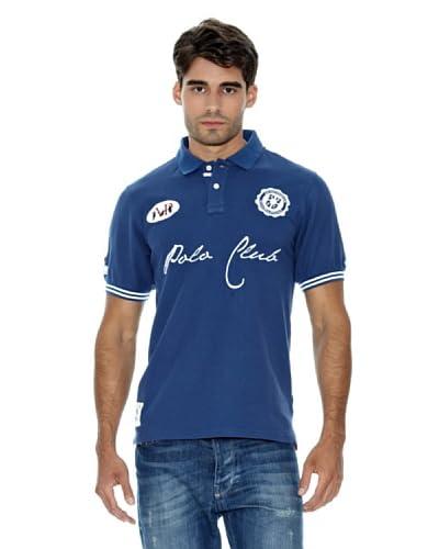 AR Polo Polo Salguero Ribetes Azul Marino