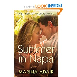 Summer in Napa (A St. Helena Vineyard Novel)  - Marina Adair