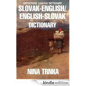 Slovak-English English-Slovak Dictionary (Hippocrene Concise Dictionary)
