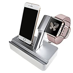 (3 in 1) Mobile Phone Stand for apple watch tablet pc ipad smartphone Ideapro® Plastic Desk Desktop Stand for Iphone 6s 4 4s 5 5s 5c Ipad 2/3 Air Mini/samsung Galaxy Mobile Phone Holder,bracket