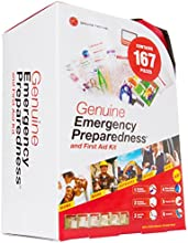 LB1 High Performance New Emergency First Aid Kit for Daycare Director 167 Pieces Soft Sided Emergenc