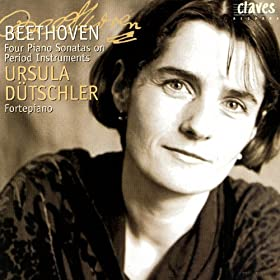 Beethoven: Four Piano Sonatas on Period Instruments