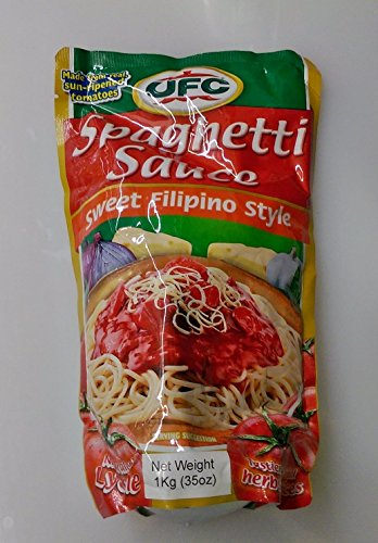 Ufc Spaghetti Sauce Sweet Filipino Style Pack of TWO 35 Oz a Pack (Asian Spaghetti Sauce compare prices)