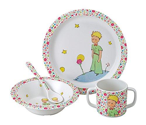 El-Principito-PP901RH-Vajilla-infantil-4-piezas-en-caja-de-regalo-color-rosa