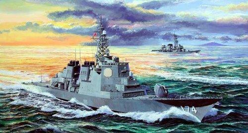 ピットロード 1/350 海上自衛隊 イージス護衛艦 きりしま (プラモデル組立キット・フルハルモデル)