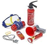 Toy - Theo Klein 8950 2 - Feuerwehr-Set
