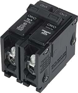 Connecticut Electric UBITB245 T&B Circuit Breaker, 2-Pole 15-Amp