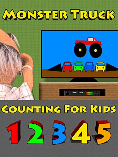 Monster Truck Counting For Kids