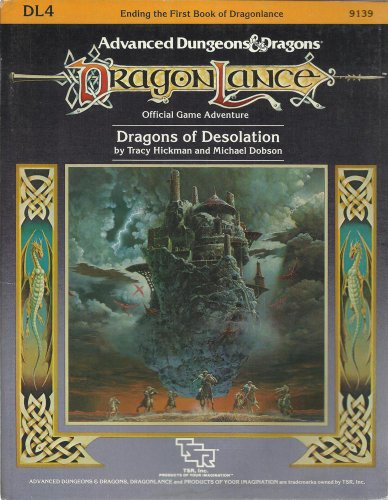 Dragons of Desolation (Dragonlance module DL4)