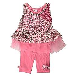 Little Kangaroos Baby-Girls Pink Dress (8903208864691_Pink_3-6 Months)