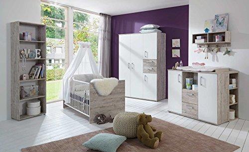 babyzimmer komplett komplettset kinderzimmer babybett babybettchen wickelkommode. Black Bedroom Furniture Sets. Home Design Ideas