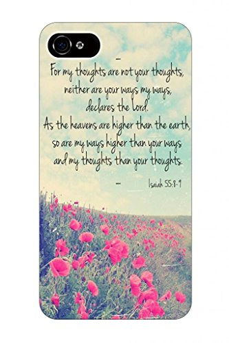 For My Thoughts Are Not Your Thoughts Neither Are Your Ways My Ways, Declares The Lord As The Heavens Are Higher Than The Earth, So Are My Ways Higher Than Your Ways And My Thoughts Than Your Thoughts Isaiah 55:8-9 Bible Quote Christian Verses Pattern The front-1069784