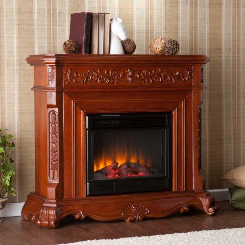SEI AMZ1769E Hartley Electric Fireplace, Classic Mahogany photo B009L1T8M0.jpg