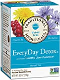 Traditional Medicinals EveryDay Detox, 16-Count Boxes (Pack of 6)