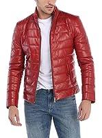 GIORGIO DI MARE Cazadora Piel Leather Jacket (Rojo)