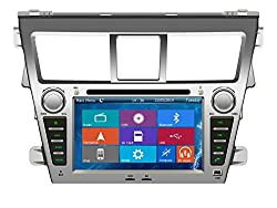 See Crusade Car DVD Player for Toyota Vios 2007- Support 3g,1080p,iphone 6s/5s,external Mic,usb/sd/gps/fm/am Radio 7 Inch Hd Touch Screen Stereo Navigation System+ Reverse Car Rear Camara + Free Map Details