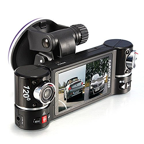 Coolbiz 2.7 Inches 140 Degree Rotation Dual Lens Car DVR 1080p HD Camera Video Recorder Dash Cam With G-Sensor Night Vision (Car Camera Recorder Battery 1080 compare prices)